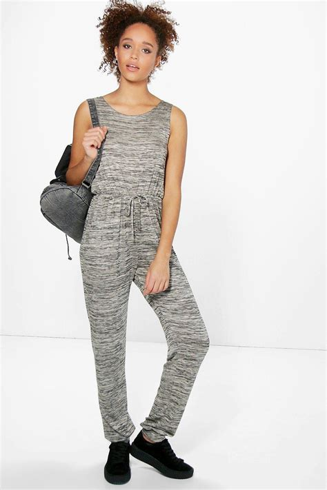 knitted jumpsuit sleeveless knitted jumpsuit at boohoo