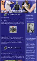 My Newsletter Builder Exles For Fitness Email Marketing Fitness Newsletter Templates