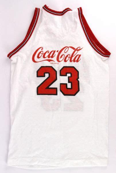 Chicago Bulls Giveaways - lot detail 1986 88 circa rare promotional michael jordan chicago bulls youth coca
