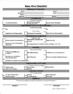 New Employee Orientation Checklist Templates Hr Pinterest We The O Jays And Travel Employee Onboarding Checklist Template