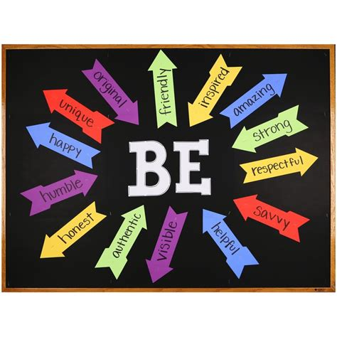 large printable letters for display boards motivational bulletin board using arrows and large letter