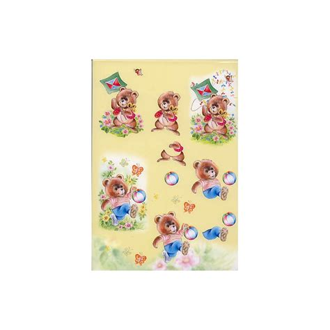 decoupage for children decoupage sheet 011 hobbyshop agnes