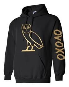 ovo sweater ovo drake gold owl ovoxo octobers very own weeknd hoodie