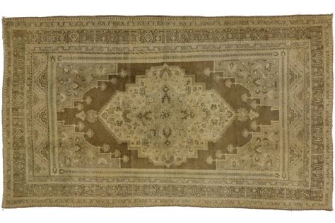 neutral color rugs vintage turkish oushak rug with modern design in neutral colors for sale at 1stdibs
