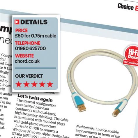 hi fi choice speaker cable reviews speaker cables interconnects from the chord company