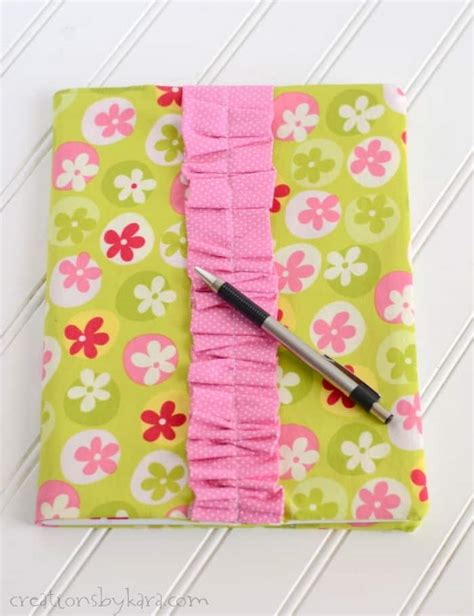composition notebook pattern fabric fabric covered notebook creations by kara