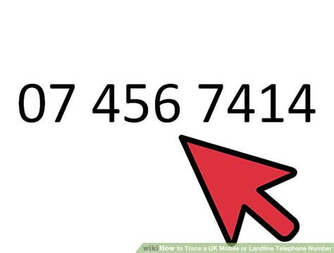 Phone Number Company Lookup How To Trace A Uk Mobile Or Landline Telephone Number 9 Steps