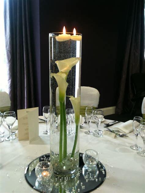 calla table l 1000 images about fleurs de mariage moderne blanc