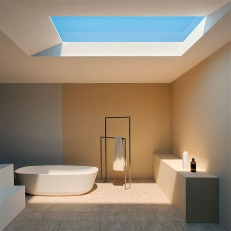 design milk podcast coelux led skylight simulates tropical and nordic light