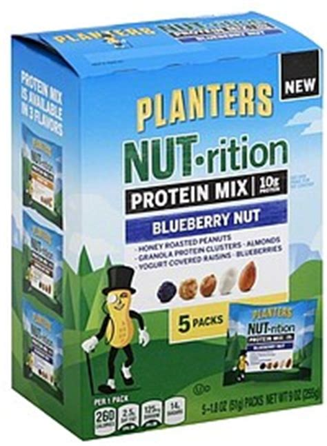 Planters Energy Mix by Planters Energy Mix Sustaining Blueberry Nut 5 0 Ea