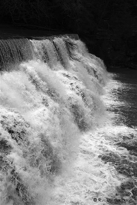 Waterloo Falls in Overton Co, Tennessee