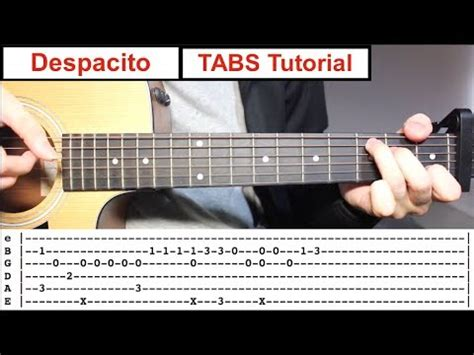 fingerstyle tutorial video download despacito fingerstyle tabs guitar lesson tutorial how