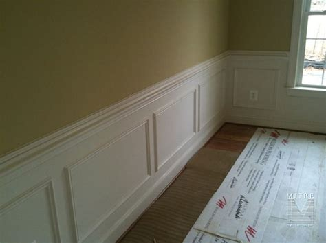 Wainscoting Boxes Wainscoting Chair Rail Shadow Box Wainscoting