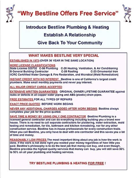 Plumbing Marketing by How Bestline Plumbing Grew From 0 To 5 Million Plus