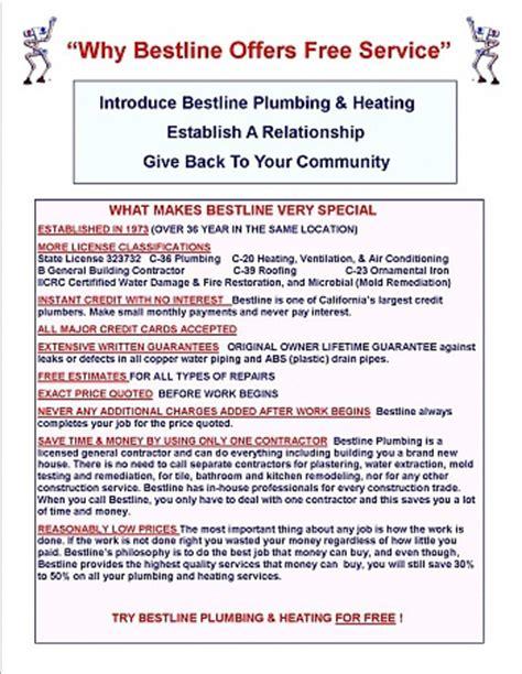 Best Line Plumbing by How Bestline Plumbing Grew From 0 To 5 Million Plus