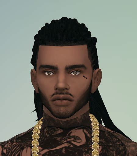 african hair sims 4 three hairs for males sims 4 custom content sims 4