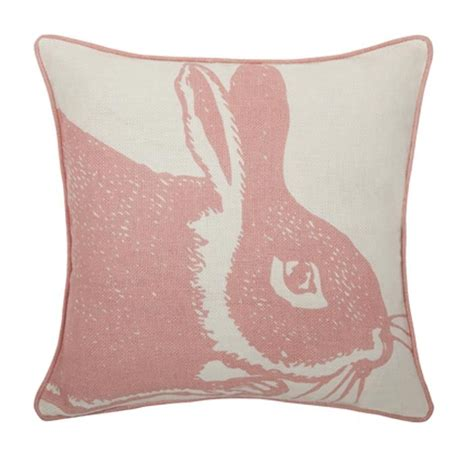 Bunny Pillows by Pink Rabbit Pillow Easter