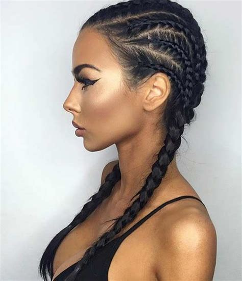 different kind of corn rolled hair styles 21 trendy braided hairstyles to try this summer stayglam