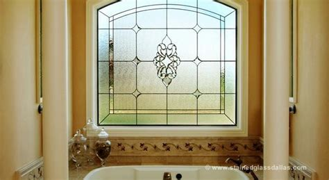 privacy glass bathroom window stained glass bathroom window dallas stained glass dallas