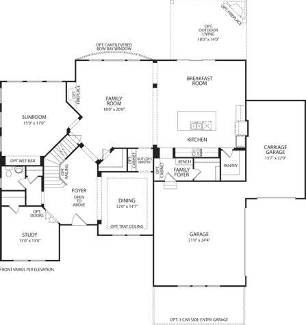 mount vernon floor plan mount vernon at oaks of west chester west chester oh