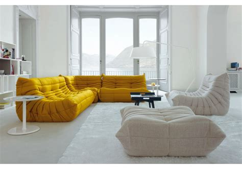 ligne roset sofa togo togo ligne roset sofa without armrests milia shop