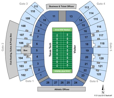 texas tech football seating map texas longhorn football tickets seating chart jones at t stadium