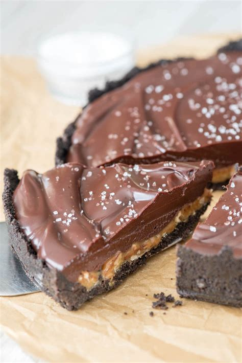 Chocolate Pie salted caramel pecan chocolate pie for crust