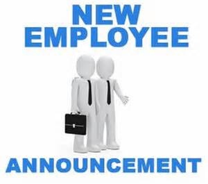 New Employee Announcement by New Employee Announcement Letter