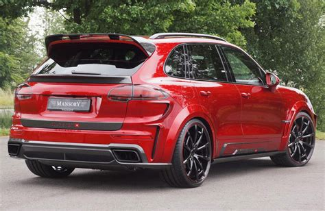 Porsche Cayenne S Tuning by 2015 Porsche Cayenne Turbo By Mansory Carz Tuning