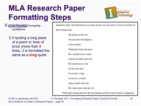 6 Steps Writing Research Paper by Formatting A Research Paper Ppt