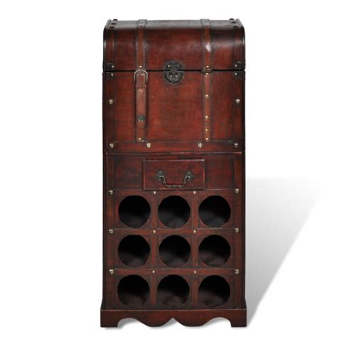 Wine Rack Storage by Vidaxl Co Uk Wooden Wine Rack For 9 Bottles Storage