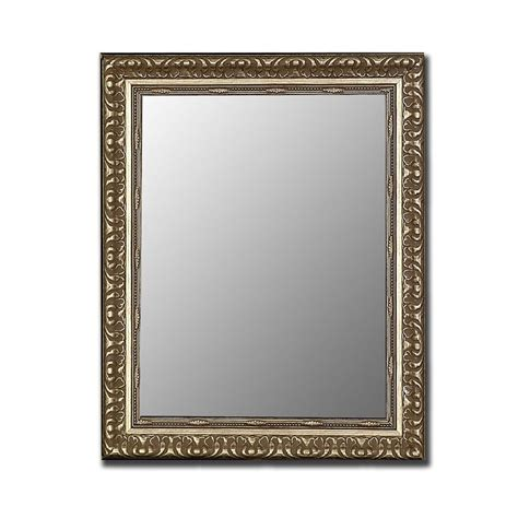 Shop hitchcock butterfield 35 in x 45 in antique silver beveled rectangle framed wall mirror at