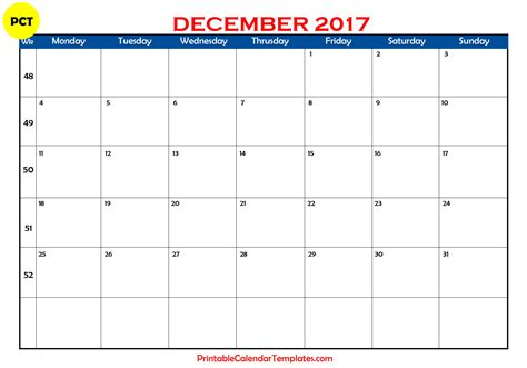 printable planner december 2017 december 2017 calendar printable printable calendar
