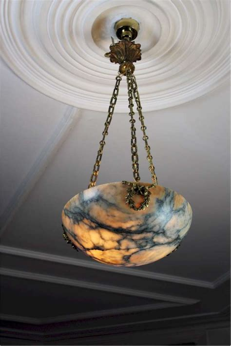 Hanging Chain Ls In by Lovely Alabaster Hanging Shade With Wonderful Chains And
