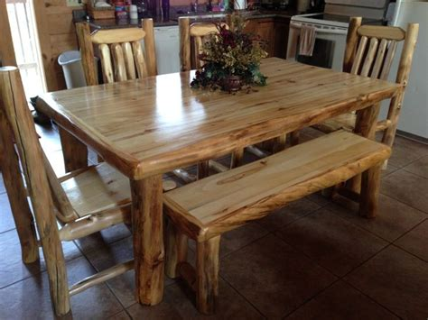 aspen dining room table cabin stuff pinterest 1000 images about cabin decor on pinterest ls log