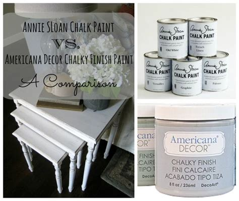 chalk paint vs acrylic light browns brown and step by step on