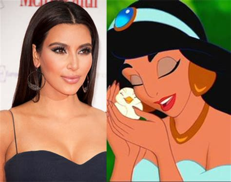 what face shape does kim kardashian have trend watch get the face of a disney princess jennifer