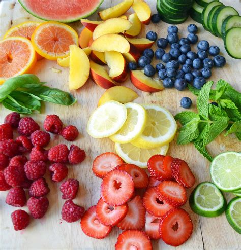 Fruits Berries And Melons Detox by Spa Fruit Infused Detox Water Modern Honey