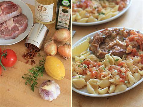cuisine traditionnelle italienne cuisine italienne osso bucco 224 la tomate au thym et aux