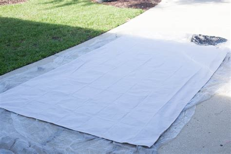 painted drop cloth rug painted rug from a drop cloth