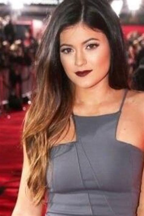 name of hairstyle with lighter on bottom kylie jenner hair lighter on bottom hair pinterest