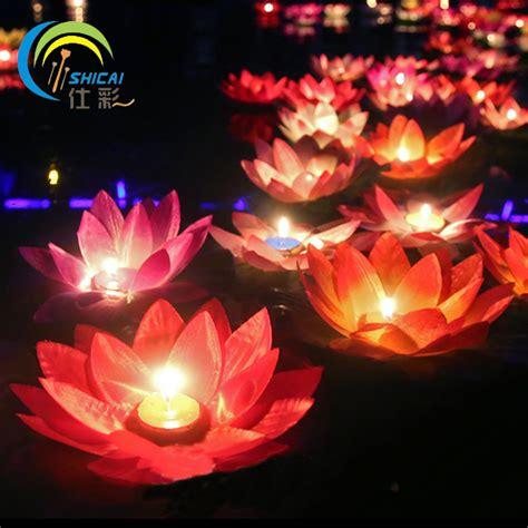 s day gift lotus wishing l votive