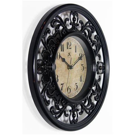 sofia wall clock 12 inch sofia a brown resin wall clock clock by room