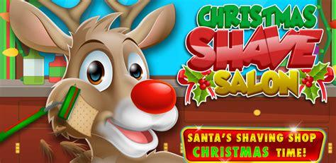 haircut games santa amazon com christmas shave santa reindeer kids