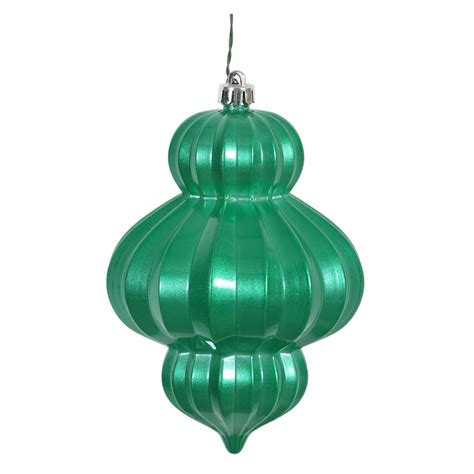 vickerman 388013 6 quot seafoam candy lantern christmas tree