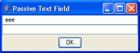 java swing text field validation jtextfield sle 2 textfield 171 swing jfc 171 java