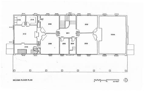mount vernon floor plan second floor historic structures report mount vernon