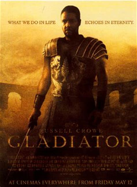 gladiator film review short movie review gladiator inverarity is not a scottish village