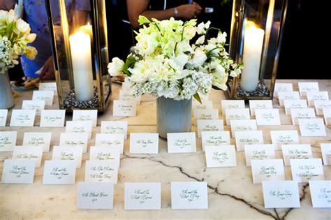 sle wedding table place cards reception of