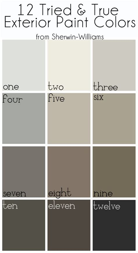 best exterior gray paint colors sherwin williams how to pick an exterior paint color bynum design blog